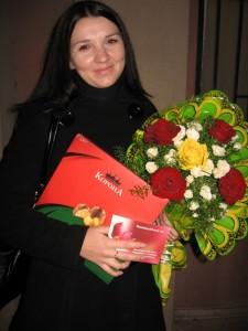 Chocolates & Flowers to Nikolaev Ukaine