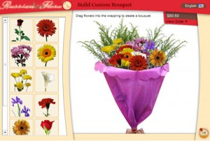 Flower Bouquet Builder from Russian Florist
