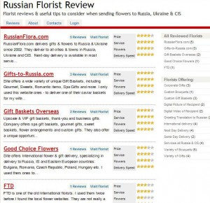 russian florist review