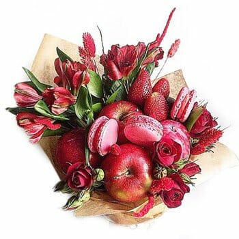 Most popular flowers for New Year in USA: Edible bouquets