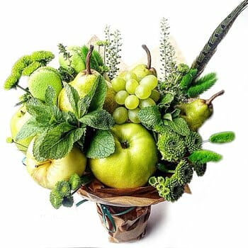 Edible Bouquets are popular for New Year in the USA