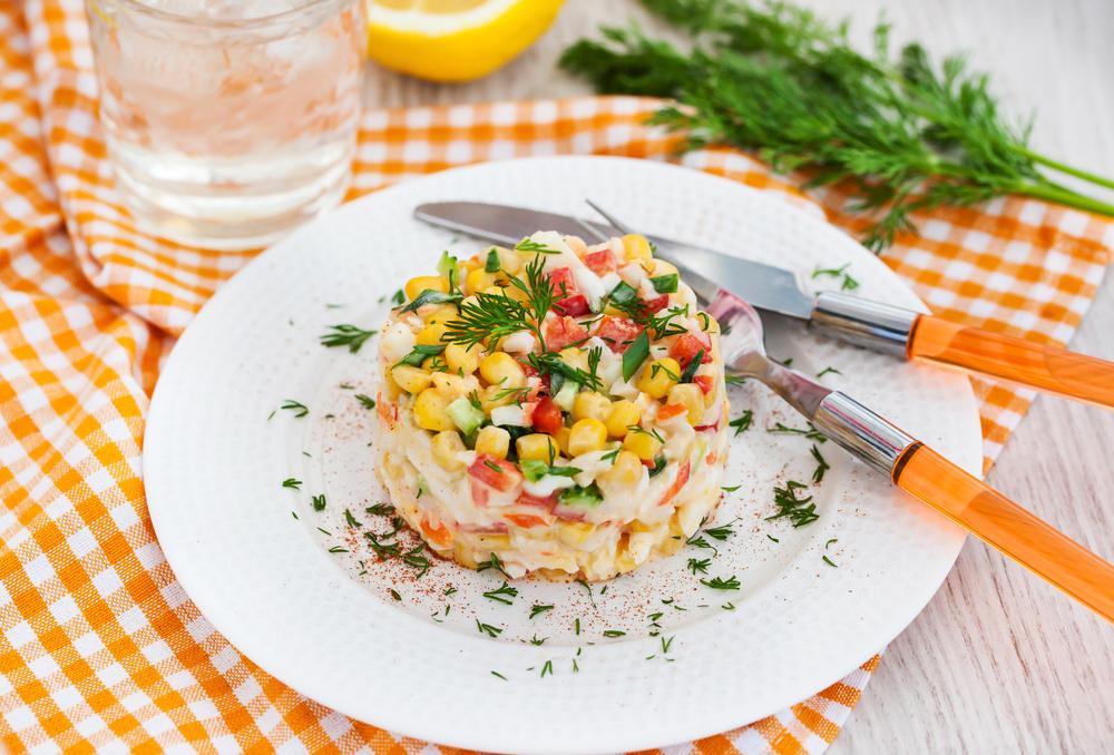Russian Crab Salad Recipe
