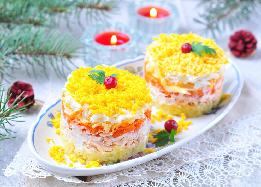 Russian Mimosa Salad Recipe