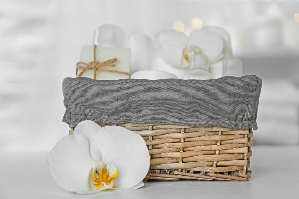 Spa gift basket for Women's Day