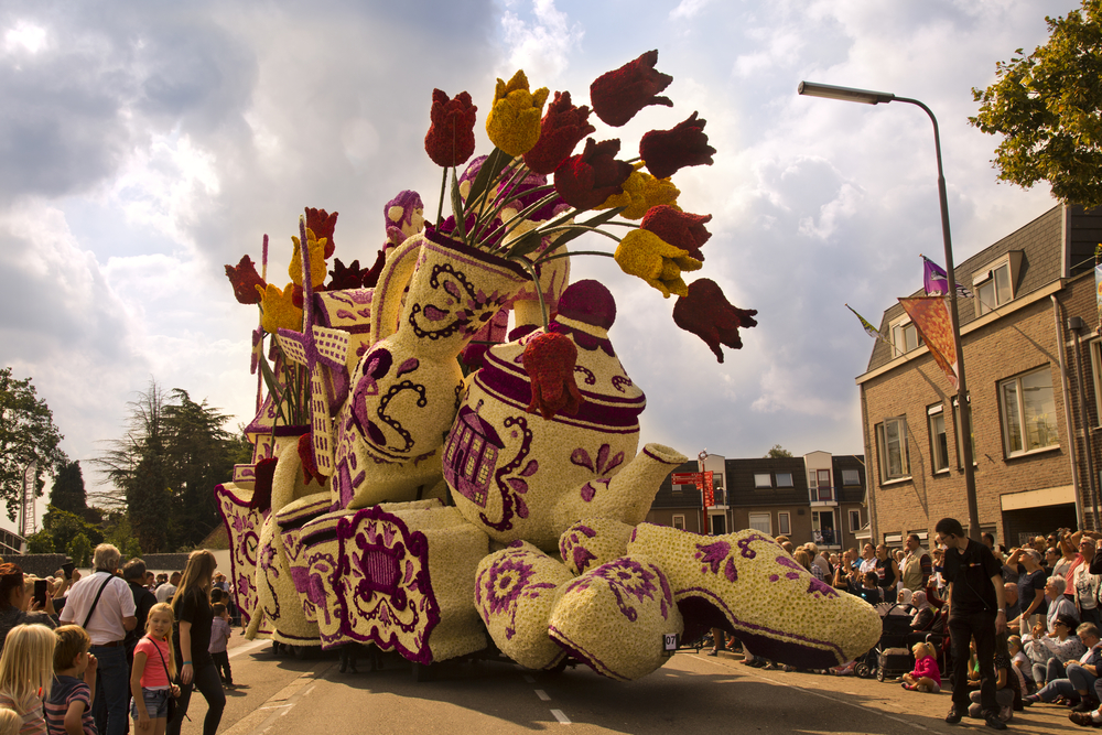 Flower Festivals Around the World: Flower Parade Corso Zundert in the Netherlands